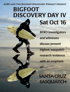 Bigfoot Discovery Day IV