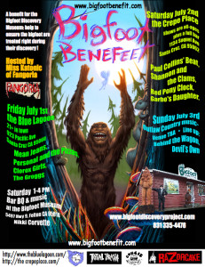 Bigfoot Benefit Poster